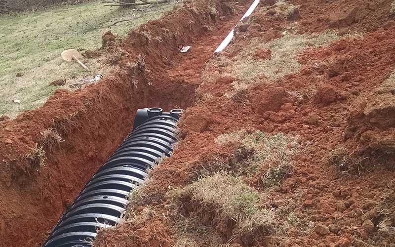 Drain Line Repair 2