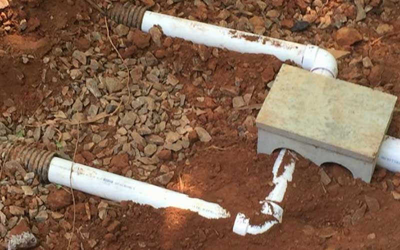 Drain Line Replacement 2